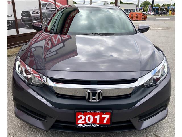 2017 Honda Civic LX (Stk: 010295) in Toronto - Image 3 of 4