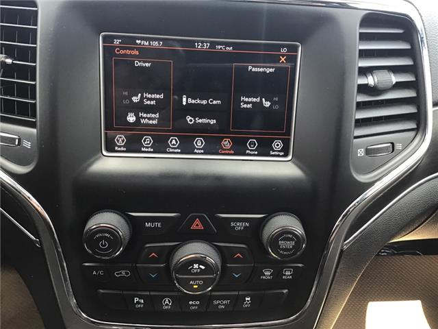 2018 Jeep Grand Cherokee Limited (Stk: 207334) in Brooks - Image 22 of 25
