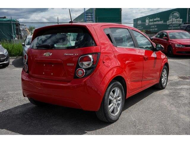 2016 Chevrolet Sonic LT Auto (Stk: SK697A) in Gloucester - Image 5 of 18