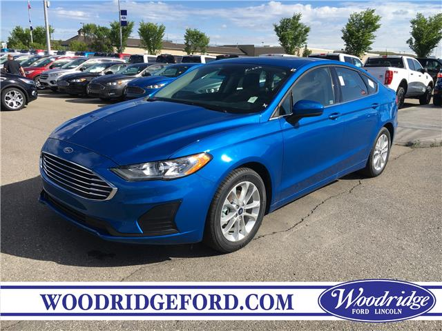 2019 Ford Fusion SE (Stk: K-293) in Calgary - Image 1 of 5