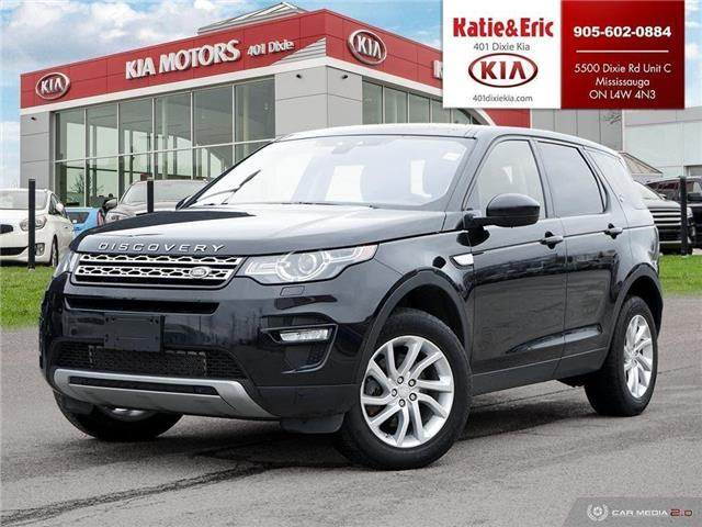 2017 Land Rover Discovery Sport HSE (Stk: K2967) in Mississauga - Image 1 of 28