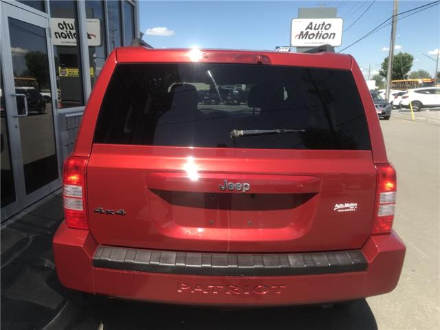 2010 Jeep Patriot Sport/North (Stk: 19708) in Chatham - Image 6 of 6