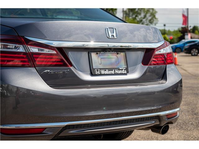 2017 Honda Accord EX-L (Stk: U19283) in Welland - Image 11 of 28
