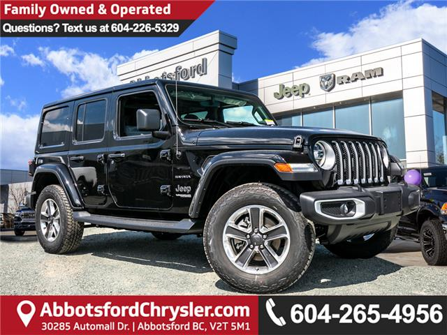 2019 Jeep Wrangler Unlimited Sahara (Stk: K628818) in Abbotsford - Image 1 of 22