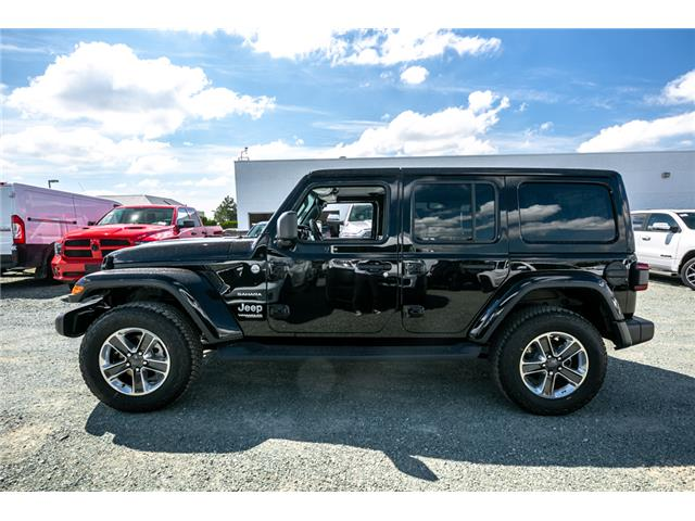 2019 Jeep Wrangler Unlimited Sahara (Stk: K628818) in Abbotsford - Image 4 of 22