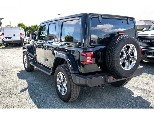 2019 Jeep Wrangler Unlimited Sahara (Stk: K628818) in Abbotsford - Image 5 of 22