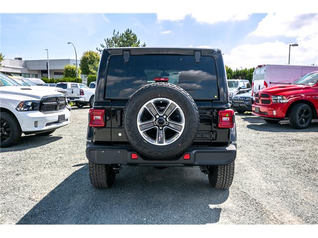 2019 Jeep Wrangler Unlimited Sahara (Stk: K628818) in Abbotsford - Image 6 of 22