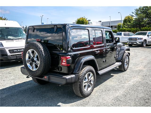 2019 Jeep Wrangler Unlimited Sahara (Stk: K628818) in Abbotsford - Image 7 of 22