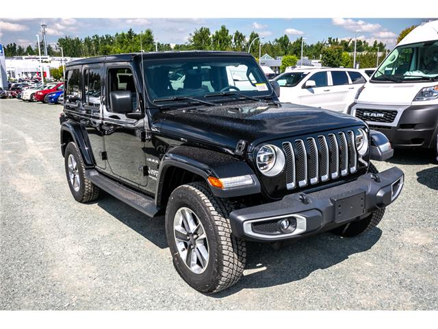 2019 Jeep Wrangler Unlimited Sahara (Stk: K628818) in Abbotsford - Image 9 of 22