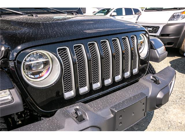 2019 Jeep Wrangler Unlimited Sahara (Stk: K628818) in Abbotsford - Image 10 of 22