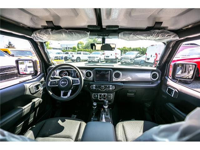 2019 Jeep Wrangler Unlimited Sahara (Stk: K628818) in Abbotsford - Image 16 of 22