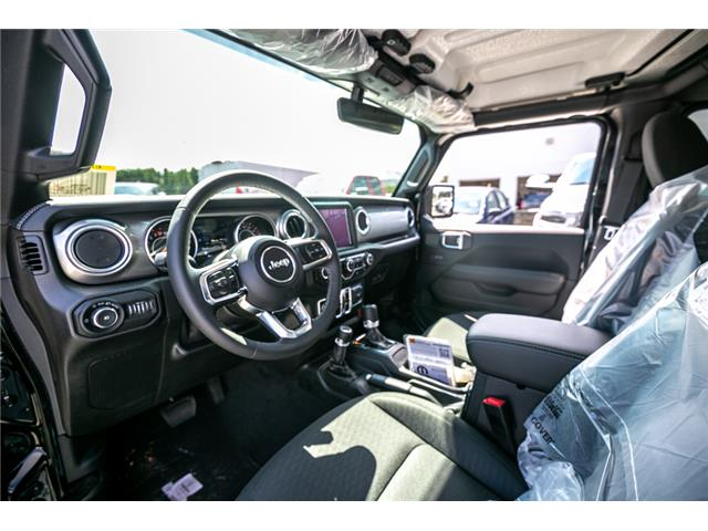2019 Jeep Wrangler Unlimited Sahara (Stk: K628818) in Abbotsford - Image 18 of 22