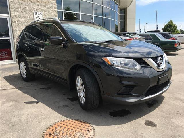 2016 Nissan Rogue S FWD BACK UP CAMERA, BLUETOOTH, ABS, ROOF RAILS,  (Stk: 44600A) in Brampton - Image 23 of 26
