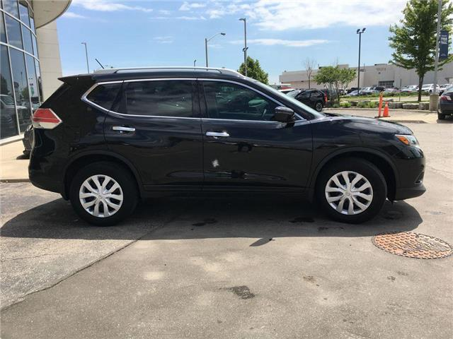 2016 Nissan Rogue S FWD BACK UP CAMERA, BLUETOOTH, ABS, ROOF RAILS,  (Stk: 44600A) in Brampton - Image 24 of 26