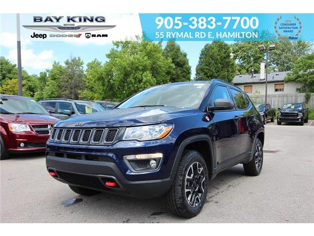 2019 Jeep Compass Trailhawk (Stk: 197633) in Hamilton - Image 1 of 25