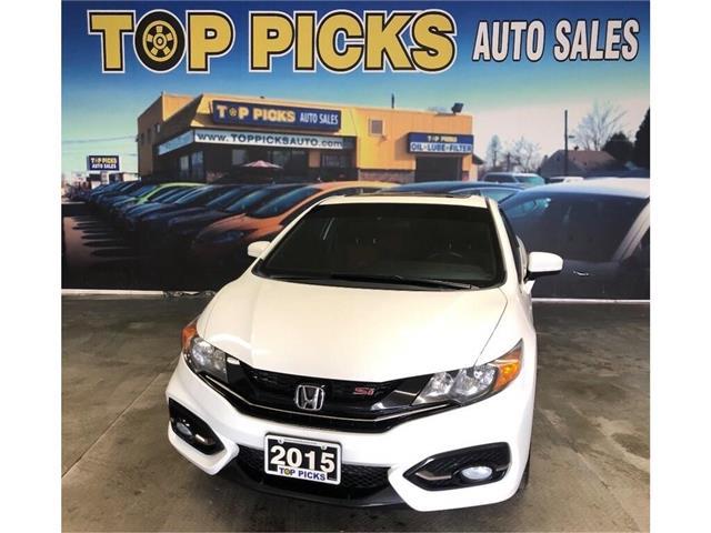 2015 Honda Civic Si (Stk: 100832) in NORTH BAY - Image 1 of 24