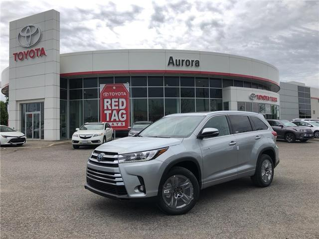 2019 Toyota Highlander Hybrid Limited (Stk: 31040) in Aurora - Image 1 of 15