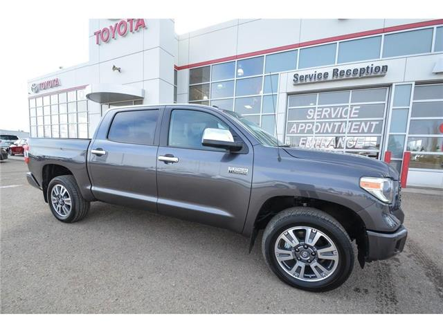 2019 Toyota Tundra Platinum 5.7L V8 (Stk: TUK076) in Lloydminster - Image 1 of 18