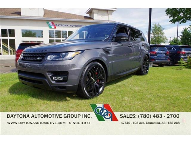 2017 Land Rover Range Rover Sport V8 Supercharged (Stk: 5231) in Edmonton - Image 1 of 30