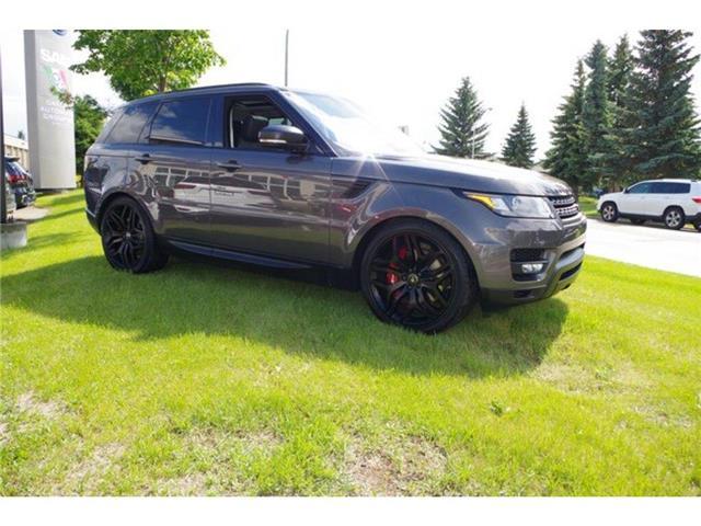 2017 Land Rover Range Rover Sport V8 Supercharged (Stk: 5231) in Edmonton - Image 4 of 30