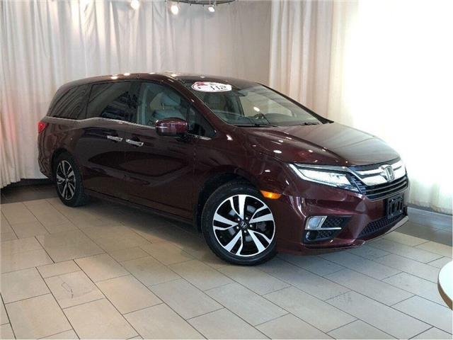 2018 Honda Odyssey Touring | Navigation | Leather | Sunroof | Alloys (Stk: 38788) in Toronto - Image 1 of 30