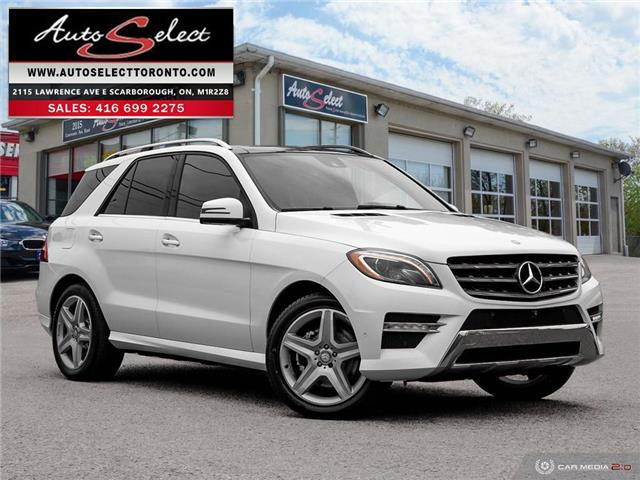 2015 Mercedes-Benz M-Class 4Matic (Stk: 1MWLAG2) in Scarborough - Image 1 of 30
