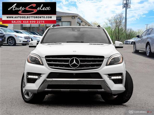 2015 Mercedes-Benz M-Class 4Matic (Stk: 1MWLAG2) in Scarborough - Image 2 of 30