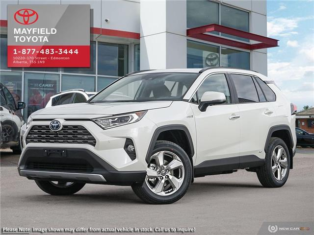 2019 Toyota RAV4 Hybrid Limited (Stk: 1901756) in Edmonton - Image 1 of 10