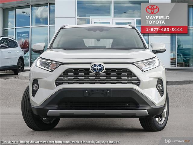2019 Toyota RAV4 Hybrid Limited (Stk: 1901756) in Edmonton - Image 2 of 10