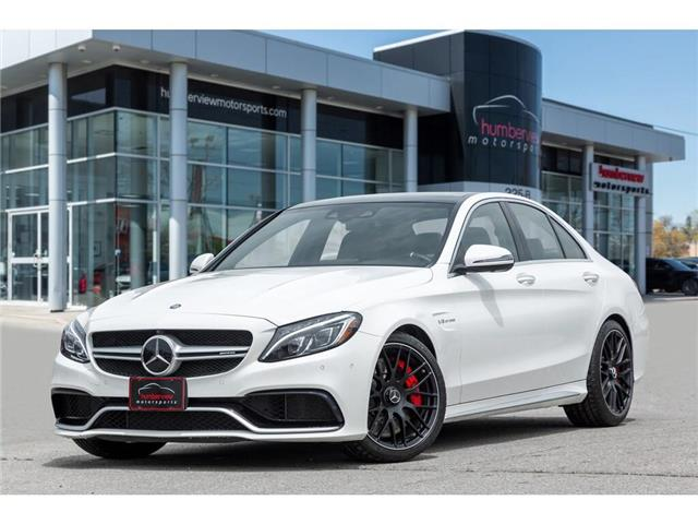 2017 Mercedes-Benz AMG C 63 S (Stk: 19HMS520) in Mississauga - Image 1 of 28