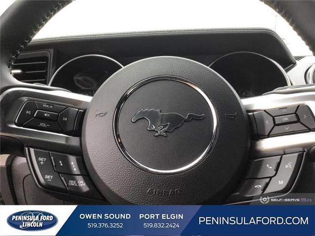 2019 Ford Mustang  (Stk: 19MU14) in Owen Sound - Image 14 of 25
