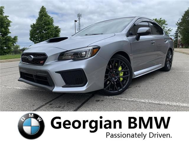2019 Subaru WRX STI Sport-tech w/Lip (Stk: P1492-1) in Barrie - Image 1 of 22