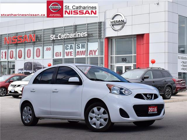 2016 Nissan Micra SV (Stk: P2249A) in St. Catharines - Image 1 of 20