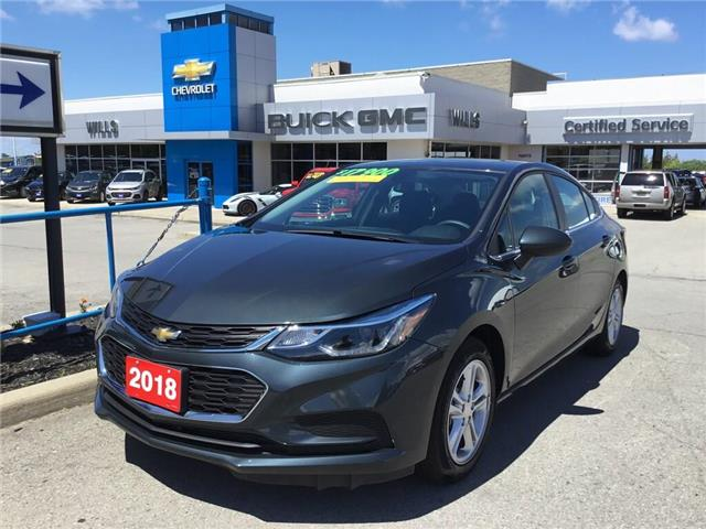 2018 Chevrolet Cruze LT Auto (Stk: 180502) in Grimsby - Image 1 of 14