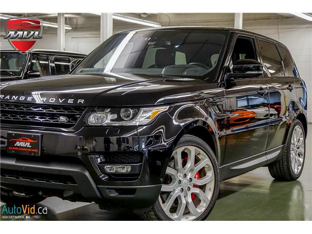 2016 Land Rover Range Rover Sport V8 Supercharged (Stk: ) in Oakville - Image 1 of 30