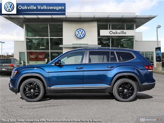 2019 Volkswagen Atlas 3.6 FSI Highline (Stk: 21434) in Oakville - Image 3 of 23