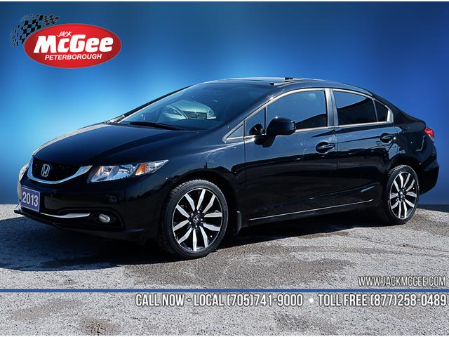 2013 Honda Civic Touring (Stk: 19637A) in Peterborough - Image 1 of 17