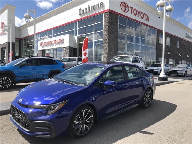 2020 Toyota Corolla SE (Stk: 200029) in Cochrane - Image 1 of 14