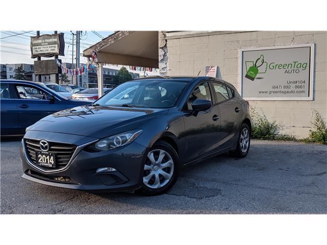 2014 Mazda Mazda3 Sport GX-SKY (Stk: ) in Mississauga - Image 1 of 29