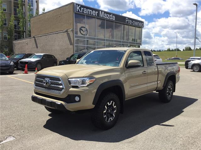 2017 Toyota Tacoma SR5 (Stk: N4278A) in Calgary - Image 1 of 17