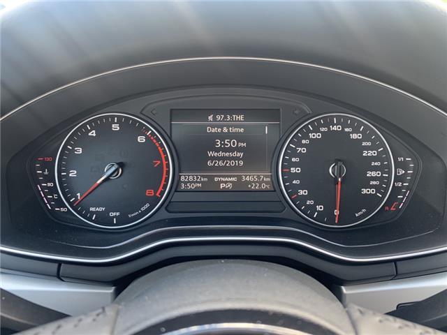 2017 Audi A4 2.0T Komfort (Stk: B8664) in Oakville - Image 14 of 19