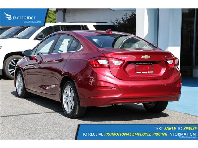 2018 Chevrolet Cruze LT Auto (Stk: 189625) in Coquitlam - Image 4 of 17