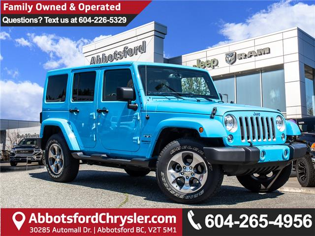 2018 Jeep Wrangler JK Unlimited Sahara (Stk: AB0875) in Abbotsford - Image 1 of 28