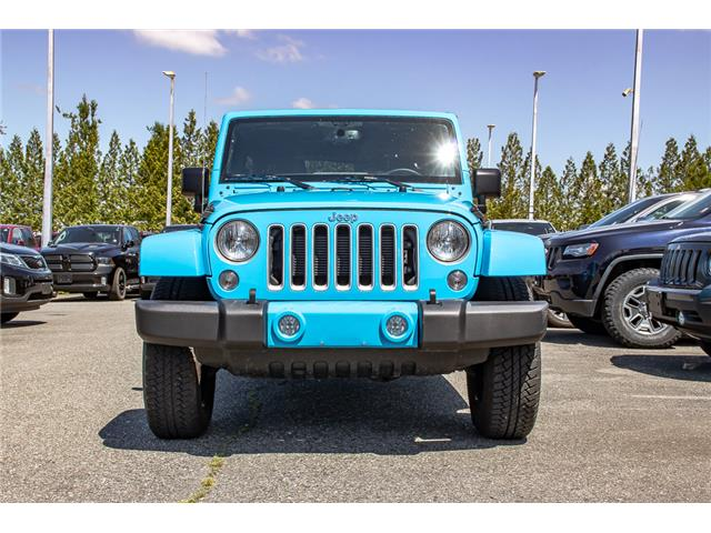 2018 Jeep Wrangler JK Unlimited Sahara (Stk: AB0875) in Abbotsford - Image 2 of 28