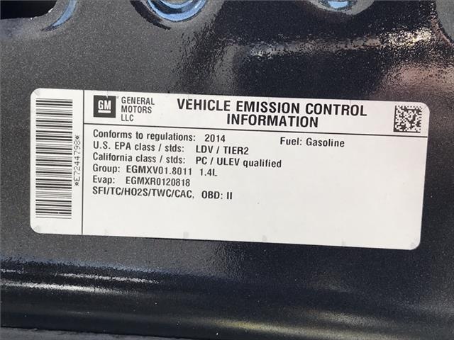 2014 Chevrolet Cruze 1LT (Stk: E7244798) in Sarnia - Image 18 of 18