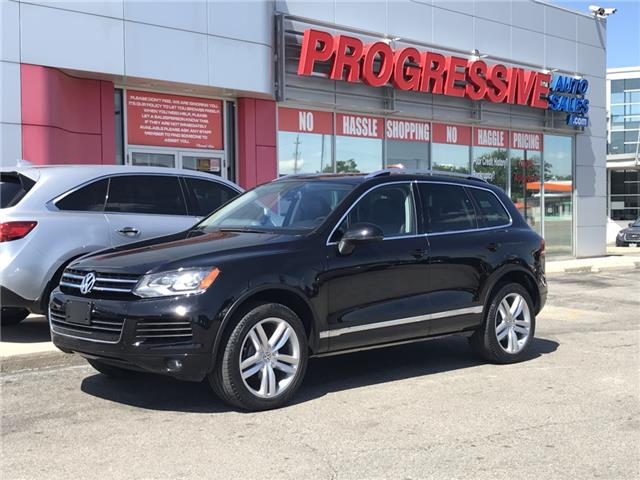 2014 Volkswagen Touareg 3.6L Comfortline (Stk: ED010751T) in Sarnia - Image 1 of 27