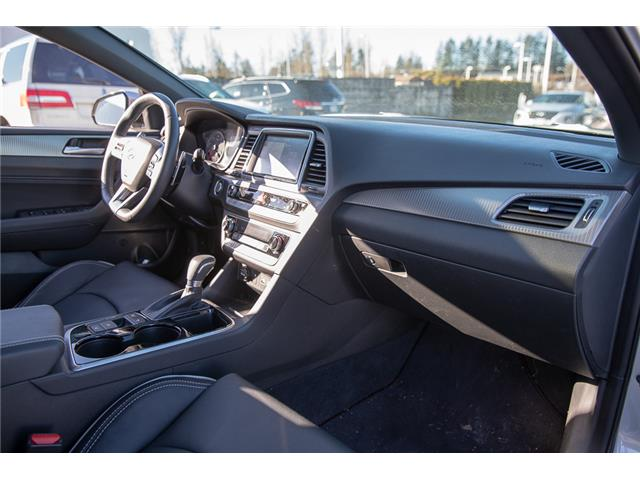 2018 Hyundai Sonata 2.0T Sport (Stk: JS722224) in Abbotsford - Image 17 of 27