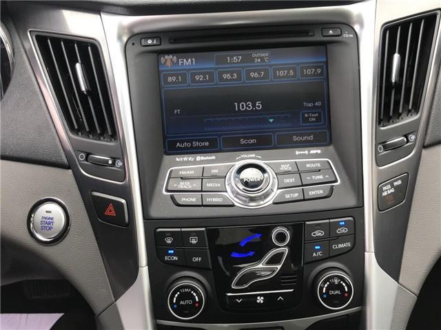 2013 Hyundai Sonata Hybrid  (Stk: 1905421) in Cambridge - Image 19 of 30