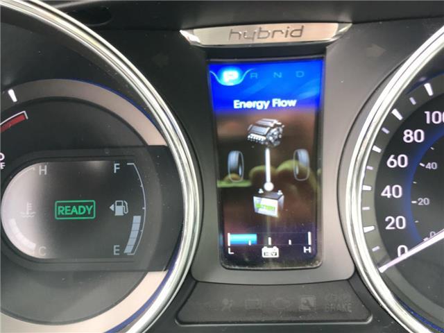 2013 Hyundai Sonata Hybrid  (Stk: 1905421) in Cambridge - Image 25 of 30