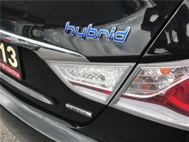 2013 Hyundai Sonata Hybrid  (Stk: 1905421) in Cambridge - Image 29 of 30